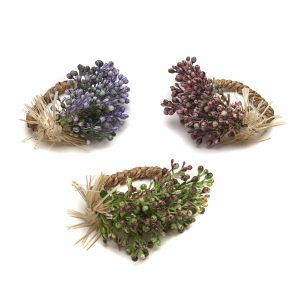 Wild Berry Spray Napkin Ring
