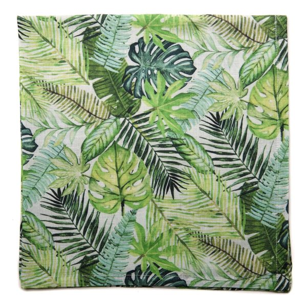 Tropical Fern Printed Napkin