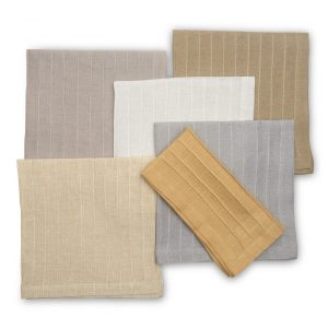 Pleated Metallic Napkin